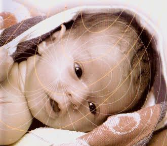 bestrahlte babys