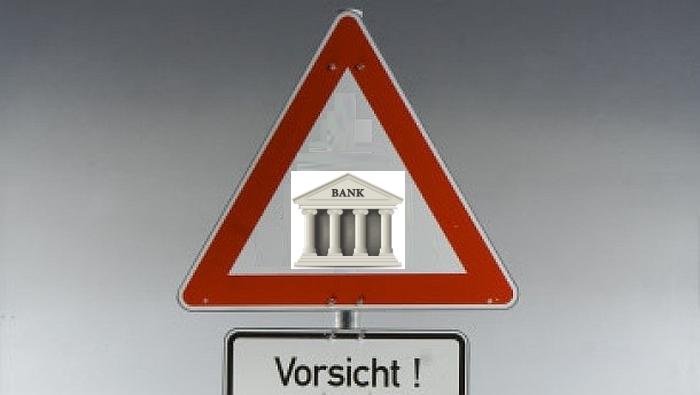 Vorsicht Bank